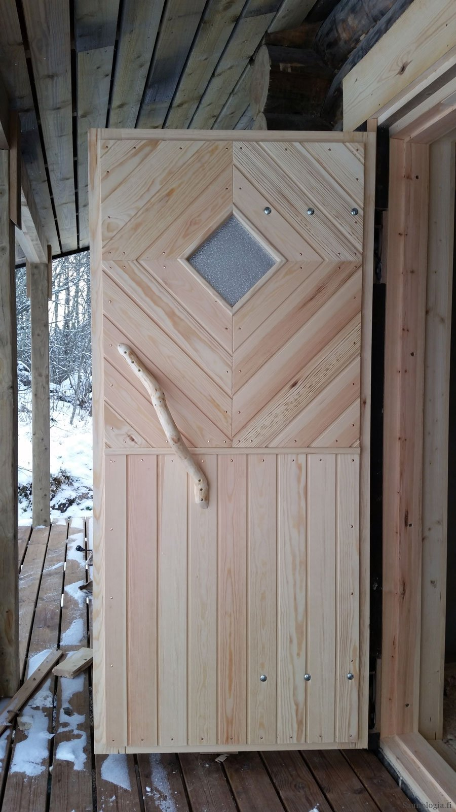 Saunan ovi – mallit ja muotoilu – Saunologia fi